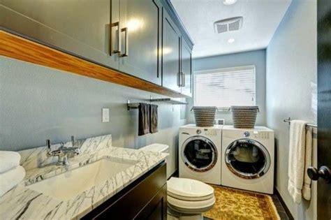 Kleines Bad Mit Waschmaschine Und Trockner by 20 Moderne Waschk 252 Chen Praktische Gestaltungsideen Und