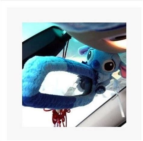 new stitch blue wizard car rear view mirror cover ebay