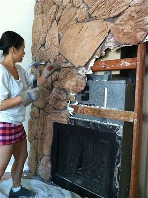 How To Remove A Fireplace Mantel by 25 Best Ideas About Fireplace Makeover On
