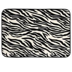 Zebra Print Bathroom Rugs Zebra Print 24 Inch Memory Foam Bath Rug Overstock Clipart Best Clipart Best