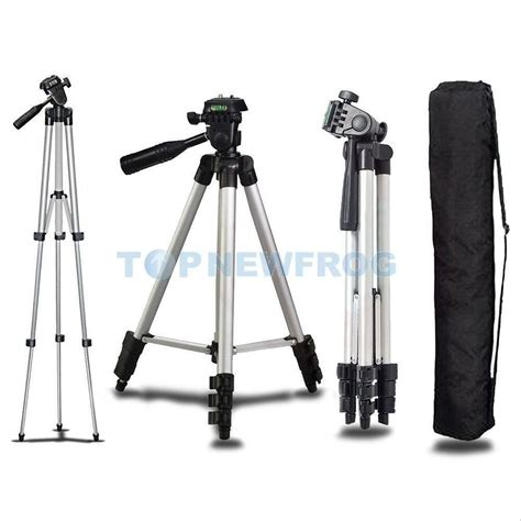 professional tripod for dslr canon nikon sony camcorder lightweight stand ebay