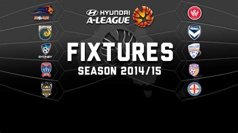 australia hyundai league season 2014 15 hyundai a league draw revealed perth