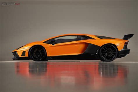 Tuning Lamborghini Lamborghini Aventador Gets Renm Performance Tuning Kit