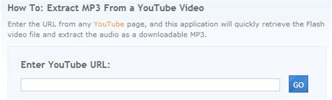 download mp3 youtube lifehacker listentoyoutube rips audio from youtube vidoes to mp3