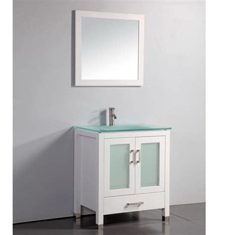 bathroom mirror and matching cabinet fresca torino 24 inch white modern bathroom vanity with