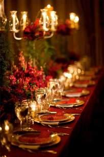 Christmas Dinner Table Elegant Christmas Dinner Table Decorations Photograph Chri
