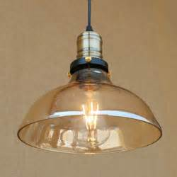 Yellow Glass Ceiling Light Retro Yellow Glass Loft Ceiling Vintage Chandelier Pendant Light Lshape