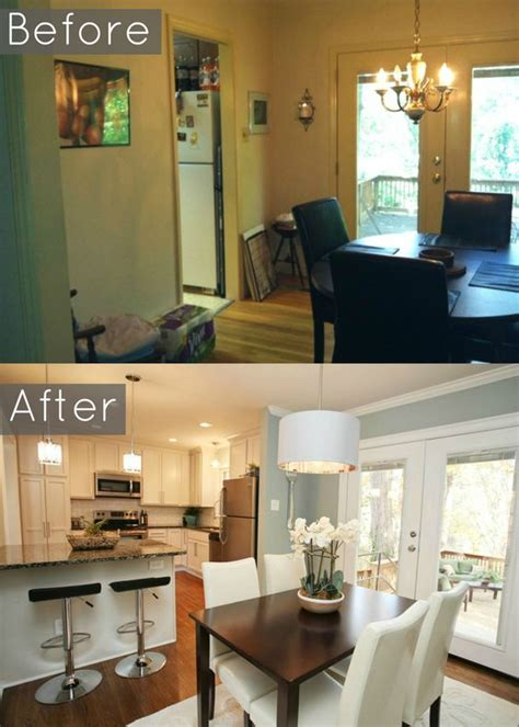 open wall from kitchen to living room opening walls between rooms transforms living spaces dreaming of doing this in your home