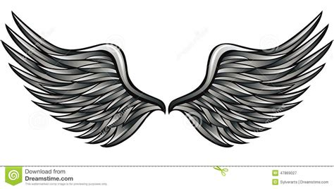 Fly And Be Free With Silver Service Wings Necklace From Direct by Silver Wings Stock Vector Image 47869027