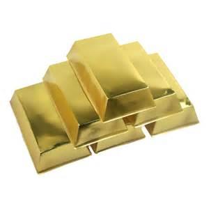 Halloween Bags Fake Gold Bars