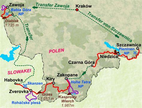 Motorradfahren Hohe Tatra by Krak 243 W Plus Drei Nationalparks Wanderungen Durch