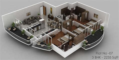 apartment style house plans apartment design 3d plan duplex apartment floor plans 3d