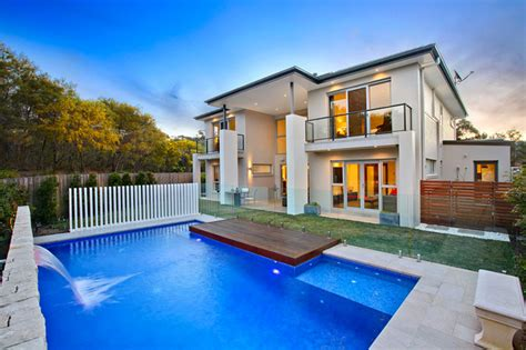 modern home design with pool modern pool design contemporary pool sydney by