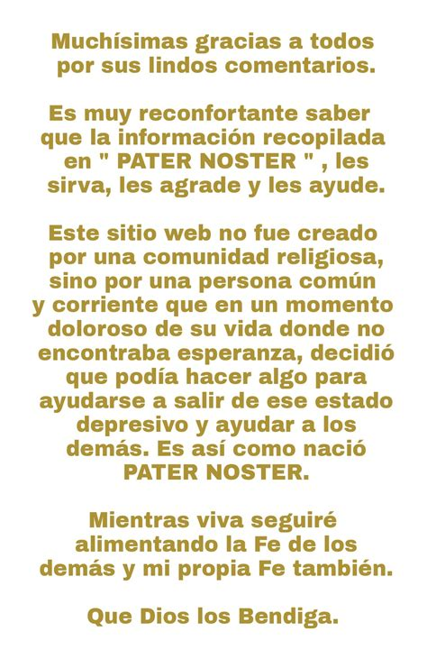 Padre Nuestro Pater Noster | biblia catholicnet upcomingcarshq com