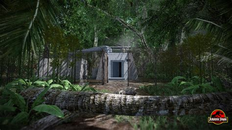 Maintenance Shed by Maintenance Shed Image Jurassic Park Aftermath Mod Db