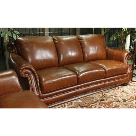 sofa cognac simi cognac leather sofa for the home