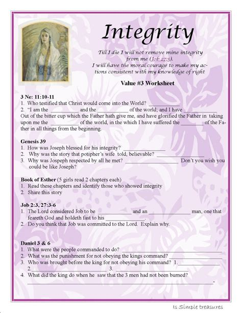 Honesty Worksheets For Adults by 28 Honesty Worksheets Pdf Character Education