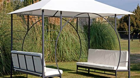 gazebo fisso da giardino westwing gazebo fresco riparo per il vostro giardino