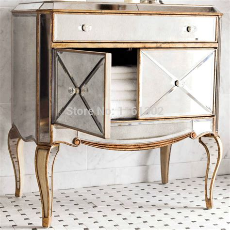 gold mirrored bedroom furniture aliexpress com buy mr 401115 antique gold rimming mirrored chest for bedroom furniture from reliable mirrored chest suppliers on mr mirror