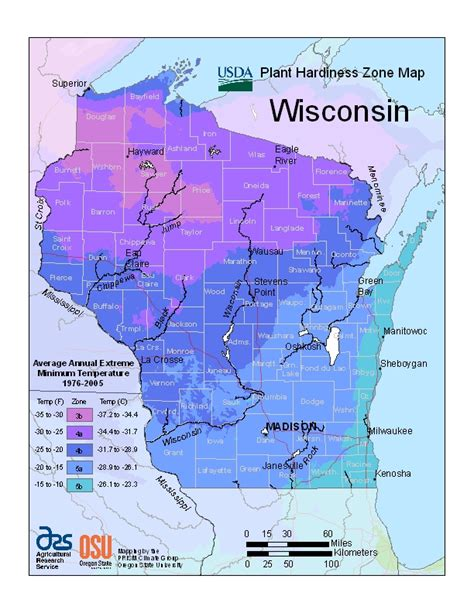 fruit zone map usda unveils new plant hardiness zone map fond du lac county