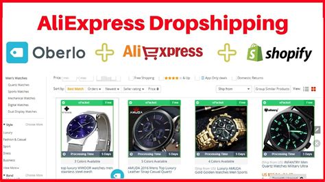 aliexpress dropshipping shopify how to use oberlo for aliexpress dropshipping on shopify
