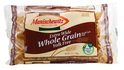 whole grain egg noodles manischewitz whole grain yolk free wide noodles