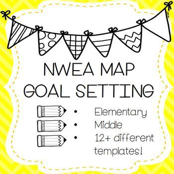 Parent Letter Nwea map goal setting nwea growing bundle resources for