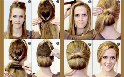 3 amazing everyday hairstyles in 3 minutes quick hairstyle in 3 minutes wonderful diy31