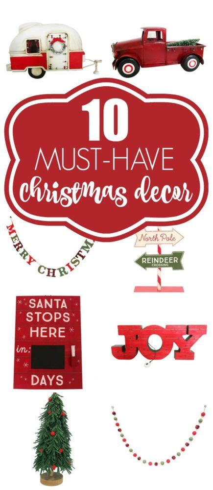 10 christmas decor must haves pretty my party