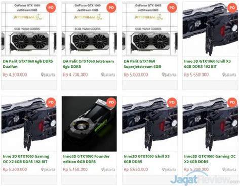 Vga Card Digital Alliance Da Geforce Gtx 1060 Jetstream 6gb harga vga card nvidia gtx 1060 di indonesia murah jagat review
