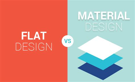 material design mockup maker flat design vs material design cubet techno labs blog