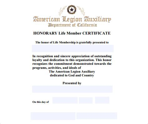 certification letter for membership membership certificate template templates data