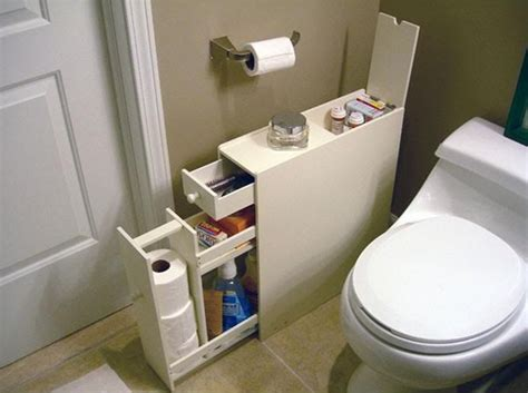 Bathroom Toilet Storage Slimline Organiser Bathroom Cupboard Cabinet White Wooden Toilet Roll Storage Ebay