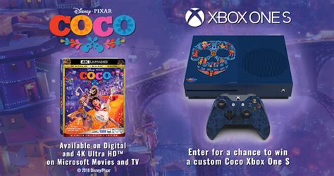 Xbox One Sweepstakes - coco xbox one s custom console sweepstakes