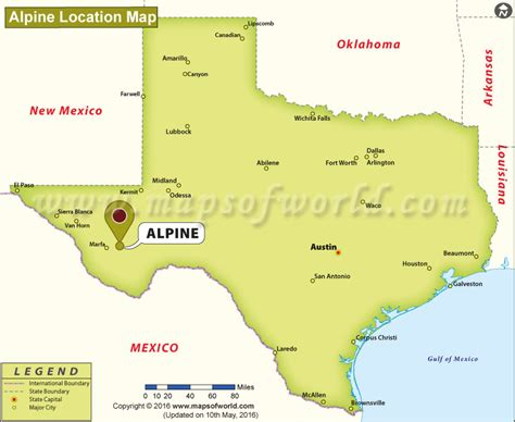 map alpine texas where is alpine texas