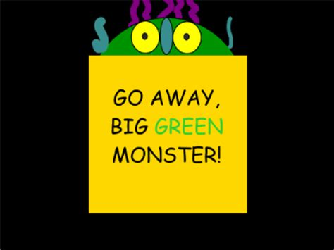 go away green smart exchange usa go away big green monster