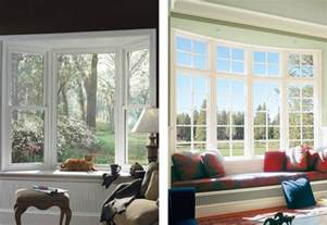 bay window vs bow window replacement bay windows pella retail