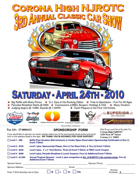 Car Show Flyer Template car show flyer www imgkid the image kid has it