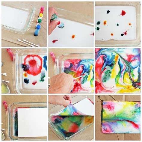 Make Marbled Paper - my favorite post of 2013 babble dabble do
