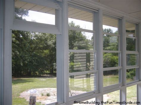 Patio Vinyl Windows by Eze Is A Clear Alternative To Glass Porch Windows