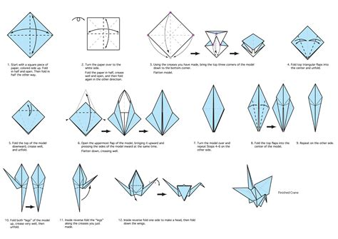 Origami Bird Base - origami outstanding origami bird base origami pages