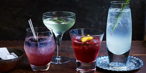 10 gin cocktails you can make in minutes bbc good food