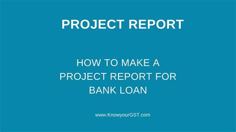 Project Report Format For New Business