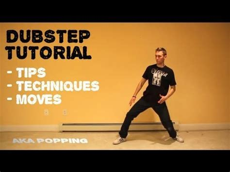tutorial dance robot pemula how to dance to dubstep tutorial robotic popping lesson