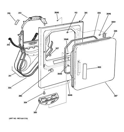 ge dryer parts diagram ge adora dryer parts engine diagram and wiring diagram