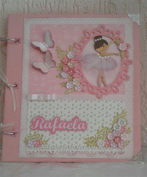 decorar fotos con scrapbook 193 lbum scrapbook bailarina decorado rafa targino