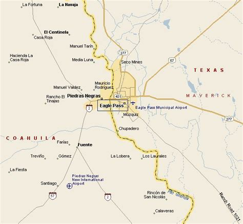 map of eagle pass south plains region eagle pass map