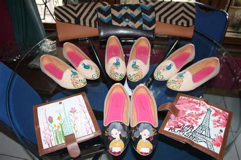 Tas Lukis Wanita Tas Wanita Tas Korea 50 sepatu flat dompet dan tas lukis pesanan pada tanggal 6 mei 2014