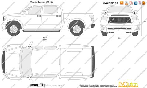 Toyota tundra dimensions
