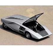 1000th Car  Lancia Stratos Zero 1970